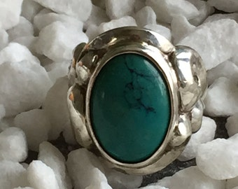 Arabesque Ring Turquoise
