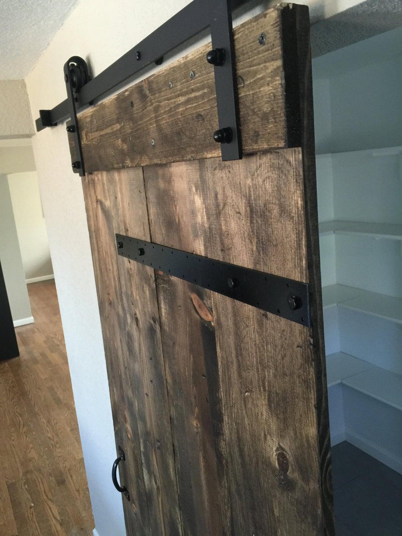 Industrial Barn Door : Industrial sliding barn doors customize your size