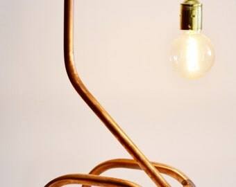 """Copper lamp model """"What?"""""""