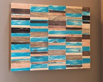 Wood Wall Art - FREE SHIPPING