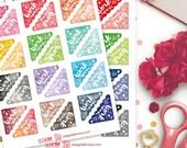Work Corner Watercolor Planner Stickers | Erin Condren | Kikki K | Filofax | Life Planners | Happy Planner