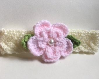Flower Headband (Newborn)