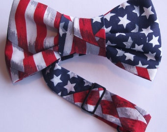 God Bless America/Independence Day bowtie/bow tie