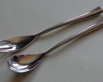 Destiny Stainless Supreme Cutlery Towle Flatware mixed lot Salad Fork, Teaspoon - Spoon Japan