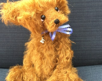 OOAK Mohair Artist Bear- Artist Teddy Bear Iggy