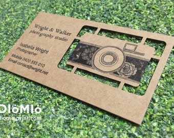 Photographer Business Cards (FREE shipping)