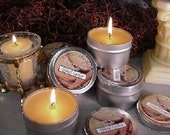 6 oz Travel Tin Candles-Spiced Cookie 6 Pack