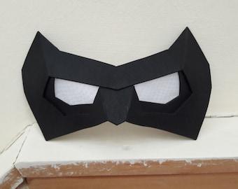 Robin / Nightwing Cosplay Eye Mask / Domino Mask Foam Template