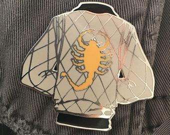 Thrive Lapel Pin [Drive Ryan Gosling White Scorpion Jacket]