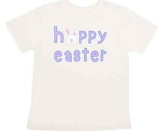 Happy Easter Iron On transfer Personalized shirt DIY Digital Hoppy Easter printable shirt