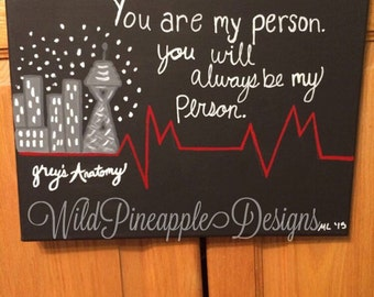 Greys Anatomy Canvas