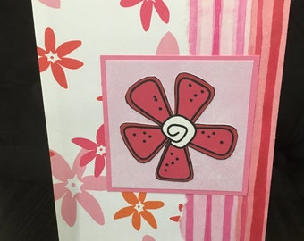 Beautiful handmade card - use for any occasion!