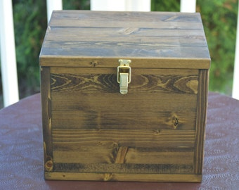 Large keepsake box, time capsule, baby memory box, anniversary box, decorative box, wooden box, legacy box