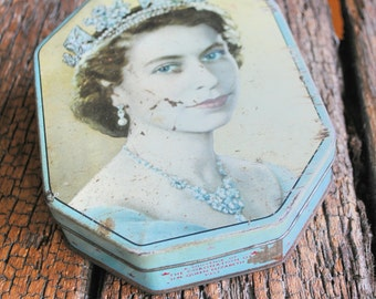 Queen Elizabeth Tin