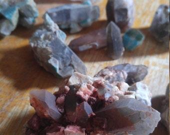 Colorado smoky quartz /amazonite lot