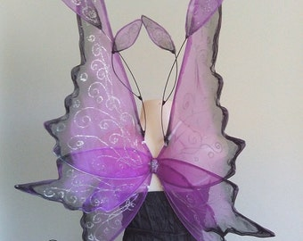 Blueberry Faerie Wings