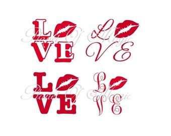 """Shop """"lips svg"""" in Patterns & Tutorials"""