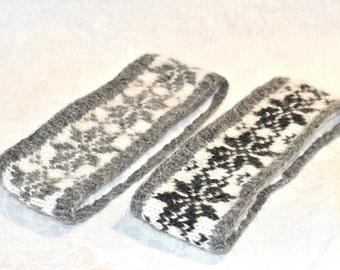 Stjörnur headband - Icelandic wool