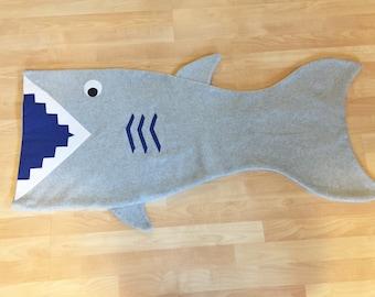 Fleece Shark Blanket