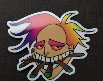 Freaky Fred Sticker
