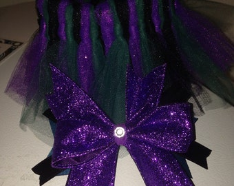 Custom tutu and matching bow 0-3months