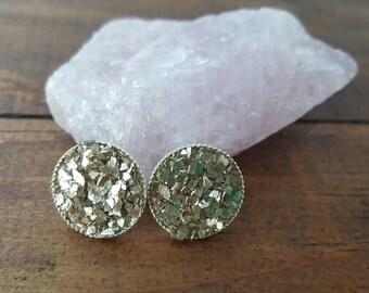 Stud earrings, handmade earrings, handmade jewelry