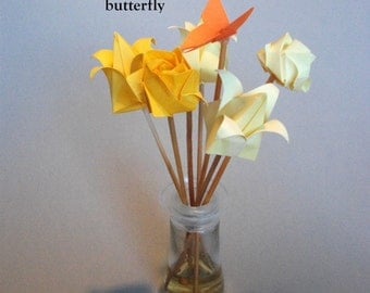 Origami flowers for Reed Diffusers