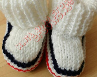 Boating Booties for 0 - 3 month old babies