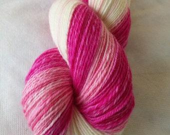 Pink Lady hand spun