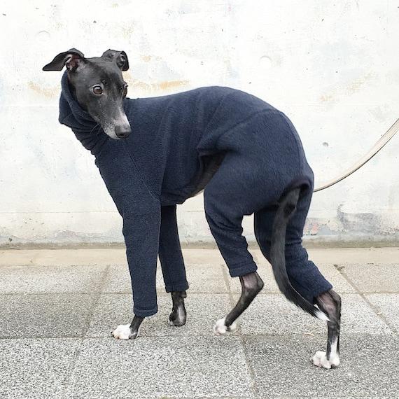 italian greyhound clothing fleece jammies jumpsuit romper. Black Bedroom Furniture Sets. Home Design Ideas