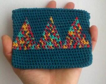 CROCHET Cotton BOHO purse
