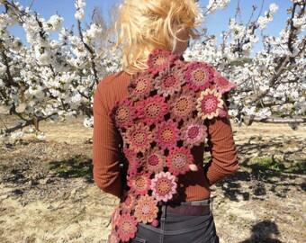 SHAWL crochet flower