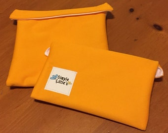 Sun Reusable Snack and Sandwich Bag Set