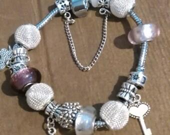 Bracelet 19 cm Pandora style
