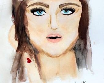 OG SELFIE - Water Color Portrait