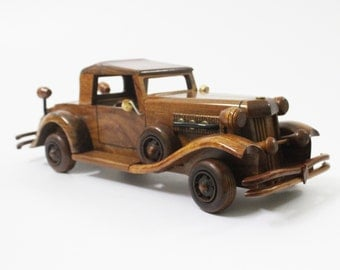 Duesenberg Car - 1932 Duesenberg Model J/SJ - Wooden car handmade