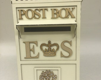 Personalised Wedding Reception Letter Box for cards etc