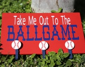 Take Me Out To The BallGame, Baseball Sign, Baseball Picture Sign, Baseball Plaque, Baseball Picture Plaque,