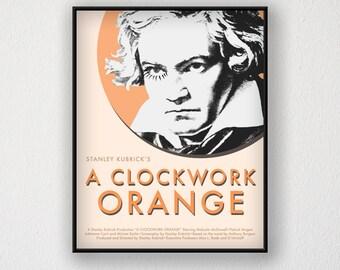 """A Clockwork Orange Movie Poster 11"""" x 14"""""""