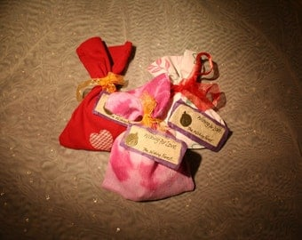 Wishing for love- a wishing bag for those who are seeking a romantic connection.