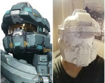 Halo 5 Centurion/Fred Helmet with 2 coats of Epoxy resin