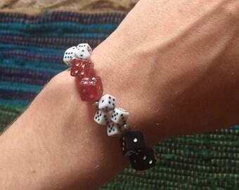 Roll the dice bracelet