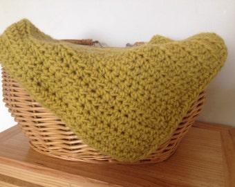 Crochet layering baby blanket/ handmade newborn layer blanket/ newborn photo props layer blanket/