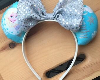 Frozen Elsa Inspired Mickey Ears