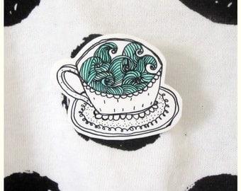 Storm in a Teacup Shrink Plastic