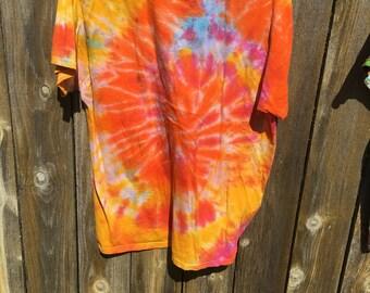 Sun Burt Swirl Large T-Shirt