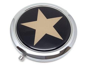 Star Pocket mirror makeup mirror mirrors double