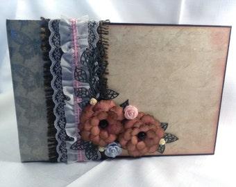 Santoro Mirabelle mini album - scrapbook album - photo album