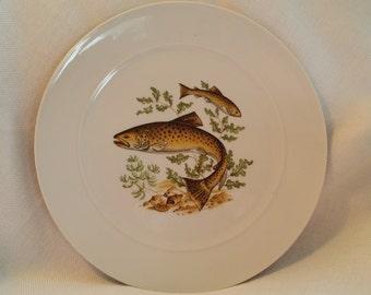 Rosenthal Antique Fish Dinner Plate