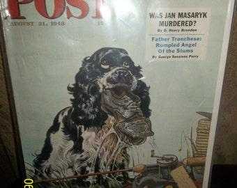 post magazine cover 1945